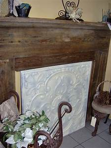 Tin, Fireplace, Covers