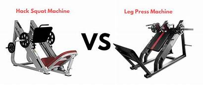 Leg Press Machine Squat Hack Vs Better