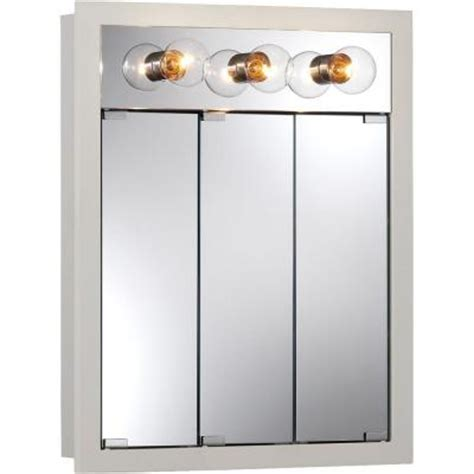 home depot medicine cabinets with lights granville 24 in w x 30 in h x 4 75 in d surface mount