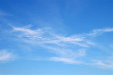 fantastic soft white clouds  blue sky carolina