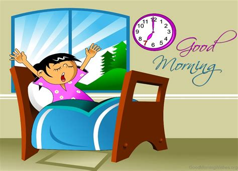 18 Good Morning Wishes With Cartoons