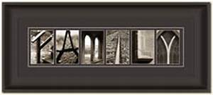 wedding gift alphabet photography With framed last name letter art