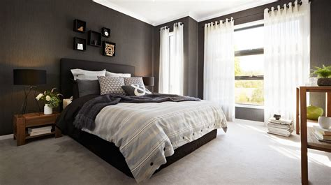 chambre mur gris inspirations de chambres noires ou grises