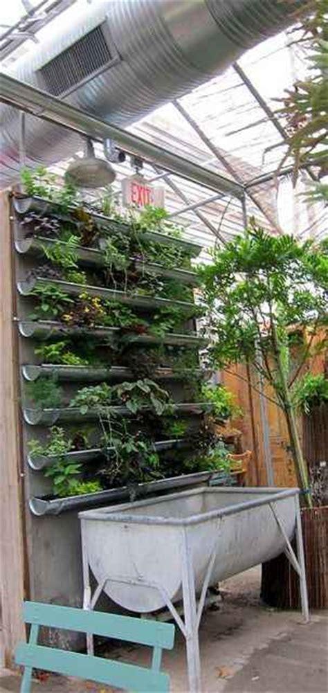 Gutter Vertical Garden by 16 Gutter Garden Ideas And Designs