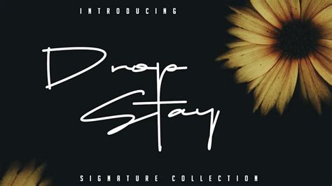 latest  signature fonts  personal  pinspiry