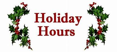 Closed Holiday Hours Christmas Sign Printable Office
