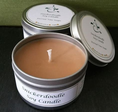 snickerdoodle candle tin fingerboard farm market