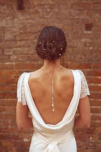 29 back wedding necklaces the hottest trend right now With wedding dress necklace