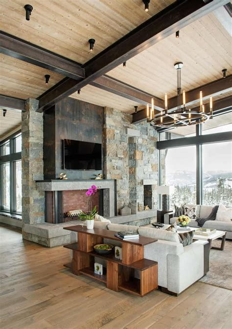 Mountain Peek | Modern Rustic Home in Montana | Wowow Home ...
