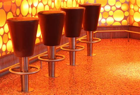 unique bar stools  impress  guests