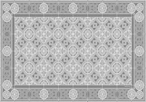 Set De Table Carreau De Ciment : set de table carreaux de ciment bertille gris tourterelle ~ Teatrodelosmanantiales.com Idées de Décoration