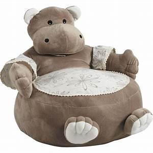 Pouf Chambre Enfant : fauteuil pouf hippopotame en coton et peluche 50x50x55cm sur jardindeco une belle d co dans la ~ Melissatoandfro.com Idées de Décoration