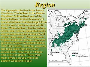 Ppt Algonquin Native American Tribe Powerpoint