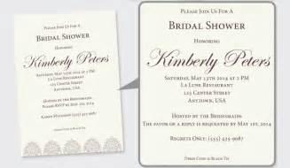 wedding shower invitation wording 5 tips for designing wedding shower invitations