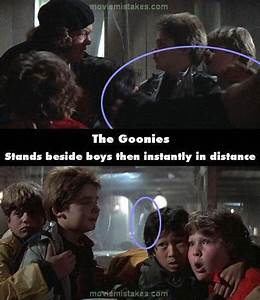 The Goonies movie mistake picture 28