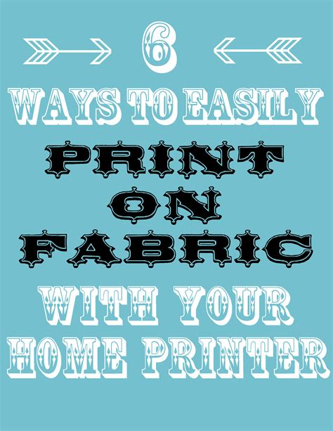printing pictures on fabric how to print on fabric 6 easy ways the graphics fairy