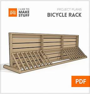 Bike Rack - Digital plan - I Like to Make Stuff