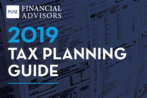 tax planning guide pure financial advisors