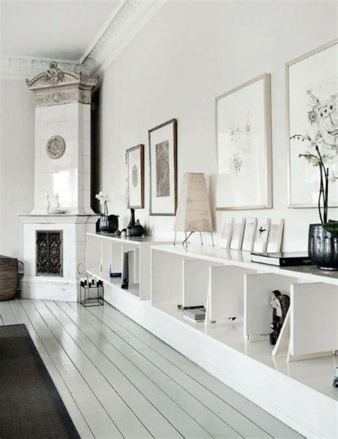 credence cuisine miroir le parquet blanc une tendance déco archzine fr