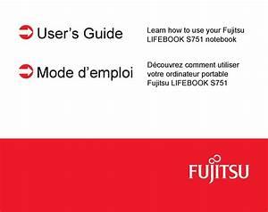 Fujitsu Lifebook S751 User Manual Pdf Download
