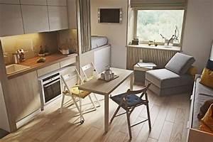 Wie Kündigt Man Eine Wohnung : wie man eine super kleine wohnung modern einrichten kann ~ Lizthompson.info Haus und Dekorationen