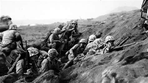 The Battle Of Iwo Jima (19 February -- 26 March 1945), Or