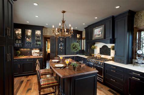 and black kitchen ideas photos hgtv