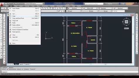 desain rumah minimalis autocad desain rumah minimalis