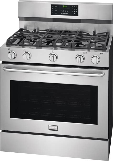 fggfts frigidaire gallery  pro style gas range stainless steel