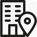 Icon Office Address Icons Company Resume Building