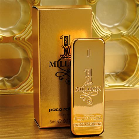 paco rabanne 1 million eau de toilette 5ml 0 17oz mini cologne homme perfume ebay