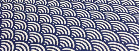 les motifs traditionnels japonais tissus papi l l