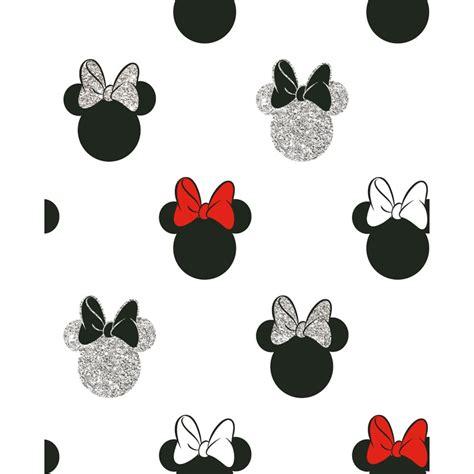 minnie sparkle wallpaper black red diy bm