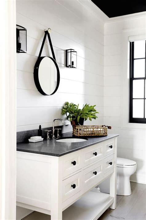 white farmhouse bathroom vanity cabinet ideas  modern