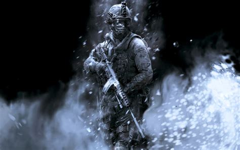 Call Of Duty Ghost Fighter Gangs Guns Military Soldier
