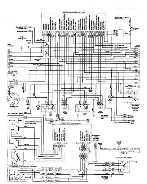 1991 Jeep Fuel Injection Wiring Diagram by Fuel Injection System Tbi 1984 1991 Jeep