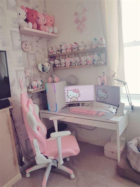 pc setup inspo   game room