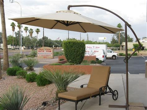 offset patio umbrella for shade from sun decorifusta