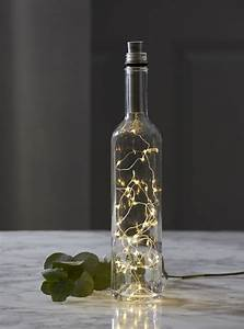 Flasche Mit Lichterkette : led korken mit led lichterkette dew ~ Lizthompson.info Haus und Dekorationen