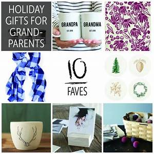 10 Faves Holiday Gifts for Grandparents 2015
