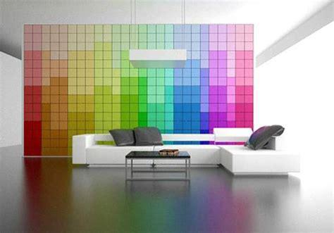brilliant rainbow interior designs