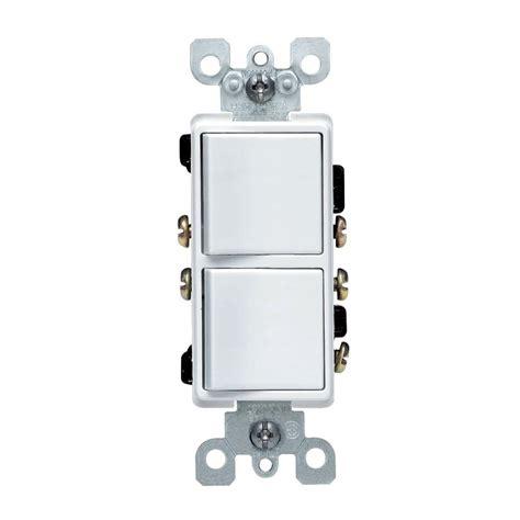3 way light leviton decora 15 amp 3 way ac combination switch white