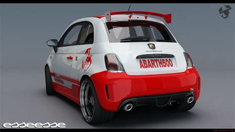 Fiat 500 Abarth Esseesse 1 By Rjamp On Deviantart