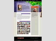Website Design for YA Author Sharon G Flake Swank Web