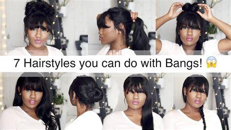 hairstyles     bangs wig encounters youtube