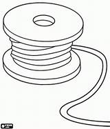 Coloring Wire Cable Spool Tools Reel Utensils Embroidery Designlooter Tape Games Printable 1kb 276px Measure sketch template