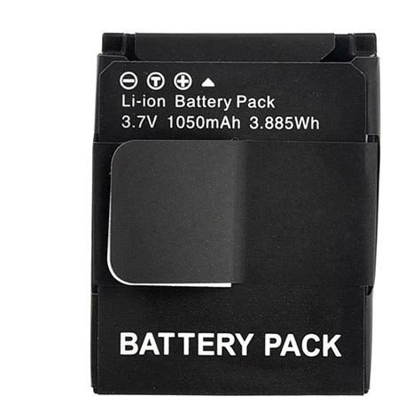 mah li ion battery gopro hero