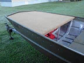 Jon Boat Removable Deck by Best 25 Jon Boat Ideas On