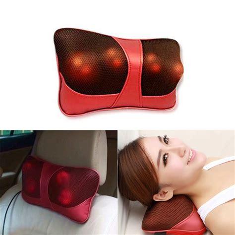 neck massager pillow home car shoulder neck shiatsu massager pillow