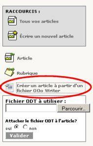 bureau virtuel amu auteur générer un article à partir d 39 un fichier